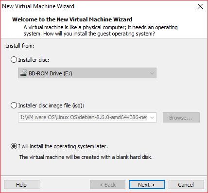 Create VM 1
