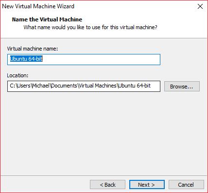Create VM 4