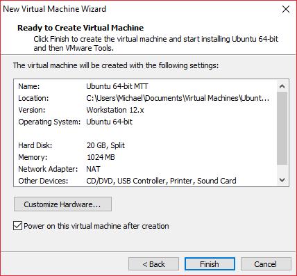 Create VM 6