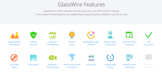 Glasswire - Free Features